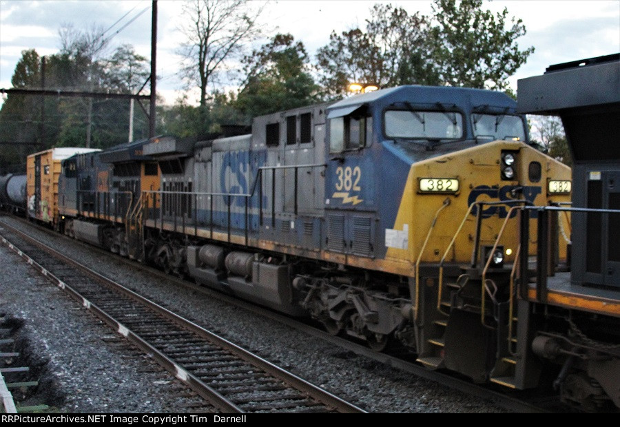 CSX 382 second on Q301